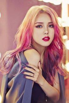 Корейский макияж цветной