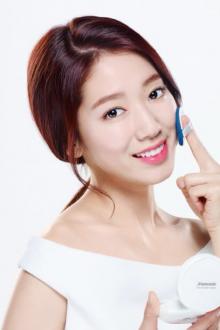 Корейский макияж с пудрой