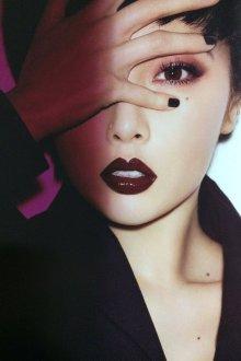 Корейский макияж темный