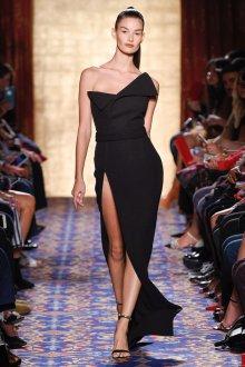 Платье с разрезом длинное