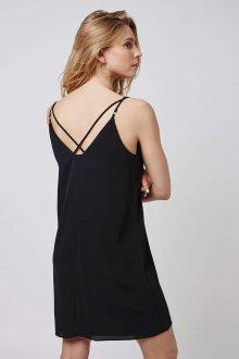 Платье с открытой спиной прямое