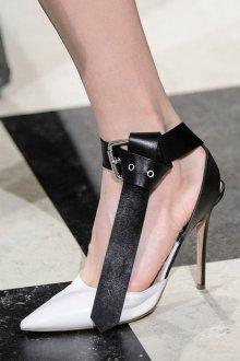 Туфли вечерние черно-белые