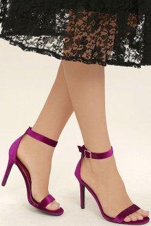 Туфли вечерние фиолетовые