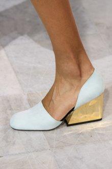 Туфли вечерние голубые
