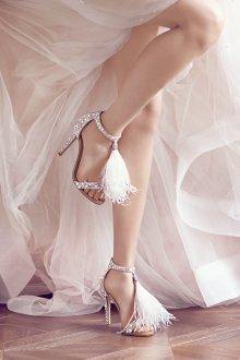 Туфли вечерние с кисточками