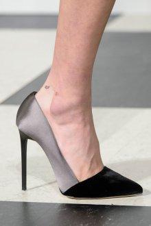 Туфли вечерние комбинированные