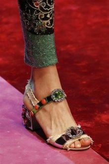 Туфли вечерние с кристаллами