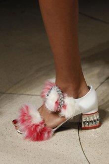 Туфли вечерние с мехом