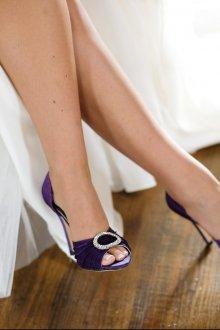 Туфли вечерние с пряжкой