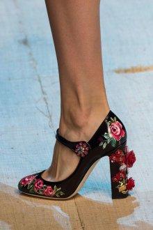Туфли вечерние с розами