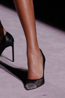 Туфли вечерние сетчатые
