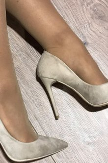 Туфли вечерние светлые