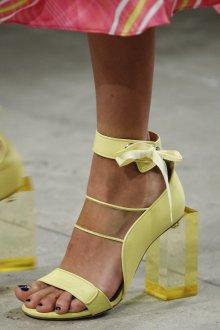Туфли вечерние желтые