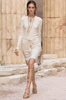 Платье шанель белое