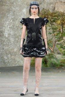 Платье шанель черное