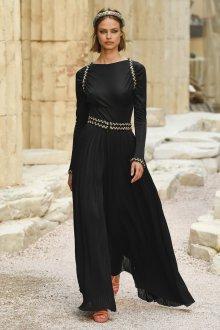 Платье шанель черное длинноеПлатье шанель черное длинное