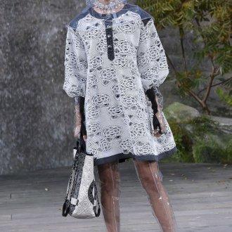 Платье шанель из кружева
