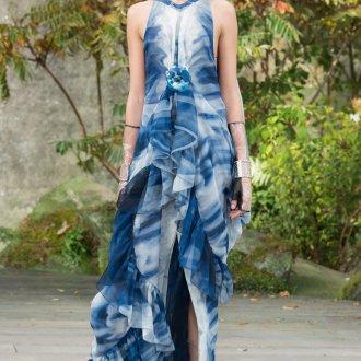 Платье шанель шифоновое