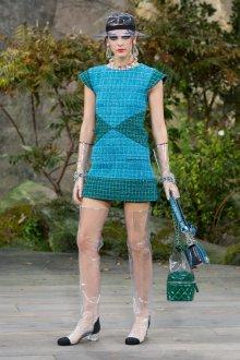Платье шанель твидовое мини