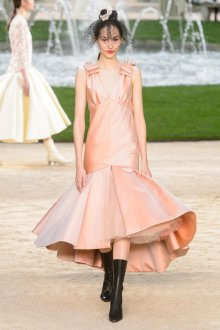 Платье шанель вечернее атласное