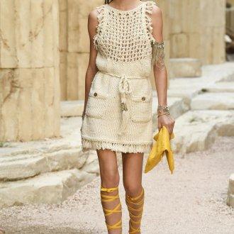 Платье шанель вязаное