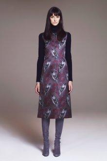 Платье футляр с принтом