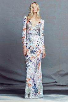 Платье с принтом вечернее кружевное