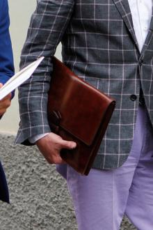 Мужской клатч деловой