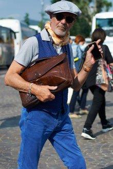 Мужской клатч портфель