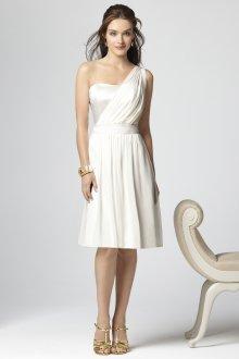 Шелковое платье асимметричное
