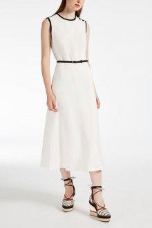 Шелковое платье белое