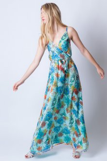 Шелковое платье легкое