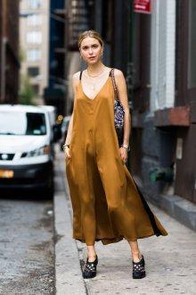 Шелковое платье макси