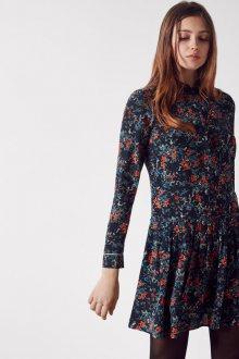 Шелковое платье мини