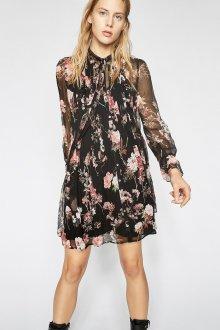 Шелковое платье прозрачное