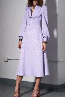 Шелковое платье ретро