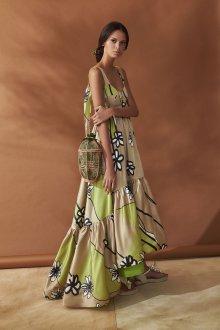 Шелковое платье сарафан