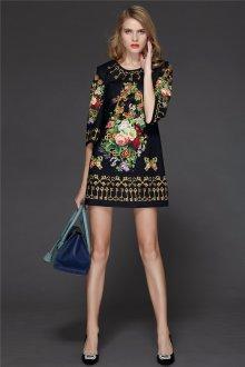 Шелковое платье винтажное