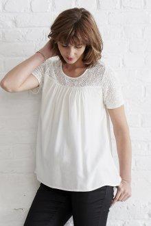Кружевная блузка летняя