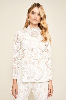 Кружевная блузка модная
