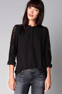 Кружевная блузка из шифона