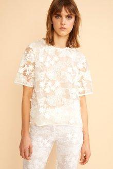 Кружевная блузка стильная