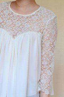 Кружевная блузка винтажная