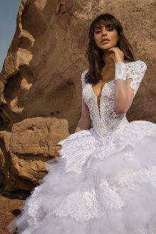 Пышное свадебное платье фасон