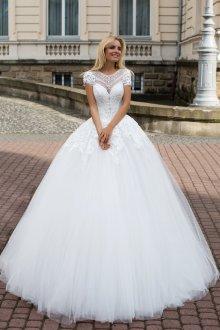 Пышное свадебное платье принцесса