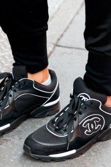 Черные кеды кроссовки