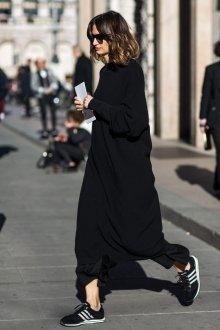 Черные кеды замшевые модные