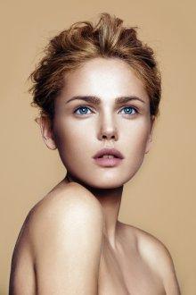 Нюдовый макияж без подводки