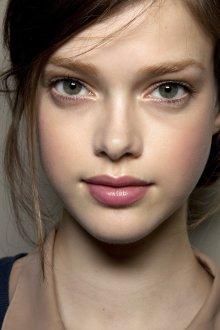 Нюдовый макияж естественный