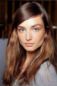 Нюдовый макияж коричневый